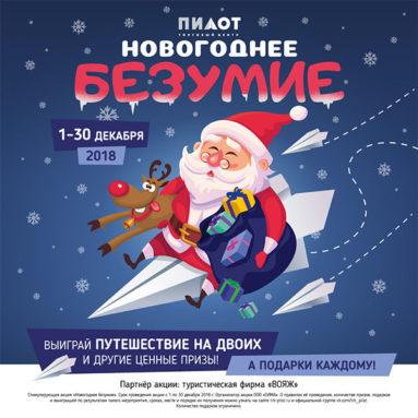 новогоднее безумие в трк пилот