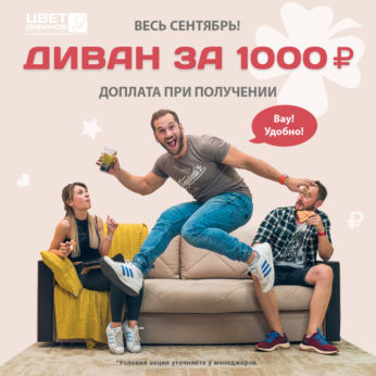 Диван за 1000 рублей